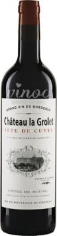Château La Grolet TÊTE DE CUVÉE Côtes de Bourg Rouge AOC 2017