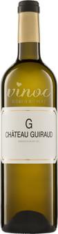 Le G de Guiraud Bordeaux Blanc AOC 2016/2017
