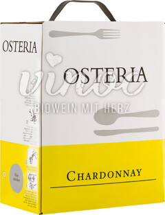 Chardonnay OSTERIA 2017 Bag in Box 3l
