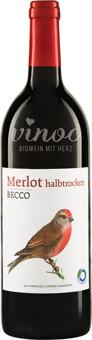 BECCO Merlot halbtrocken 2019 1l
