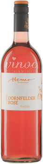 Dornfelder Rosé lieblich QW 2017 1l Hemer