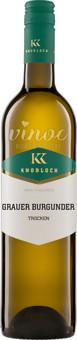 Grauburgunder GUTSWEIN QW Rheinhessen 2020 Knobloch
