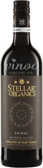 Shiraz 2015 Stellar Organics ohne SO2-Zusatz