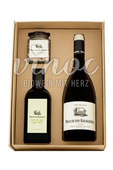 Paket Wein, OEL, MANDELN Vegalfaro